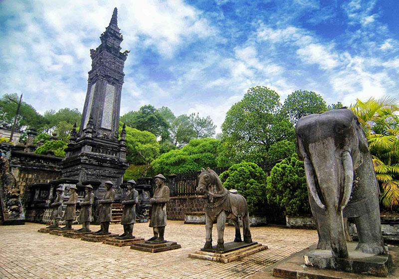 Emperor Khai Dinh Tomb