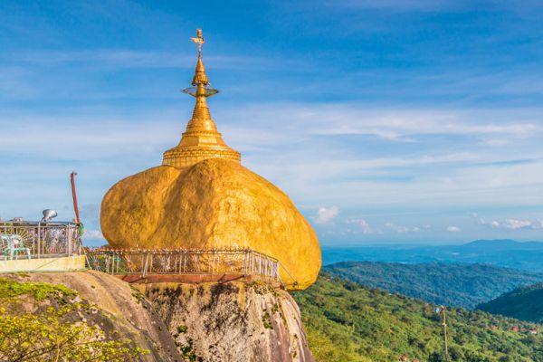 Golden Rock Kyaiktiyo Pagoda