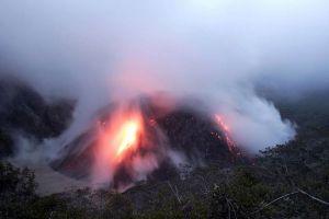 Kelud Volcano : East Java, Indonesia