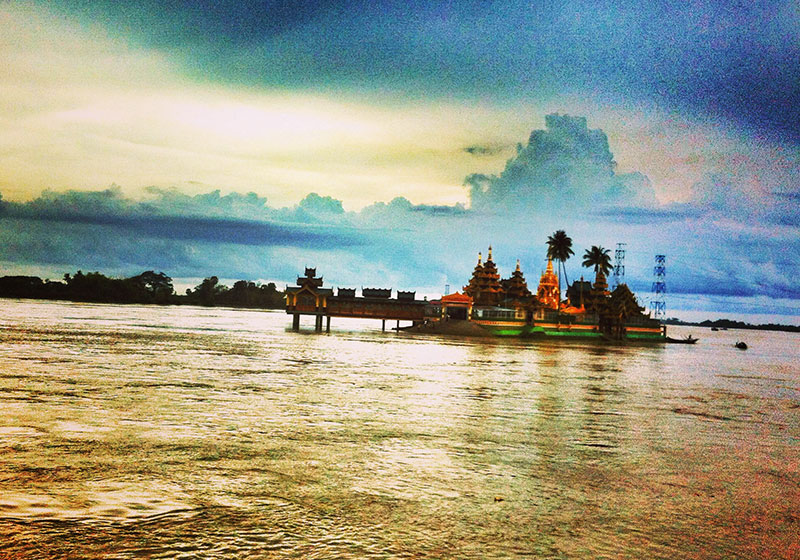Kyauktan Ye Le Pagoda