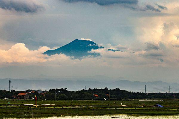 Mount Slamet Volcano