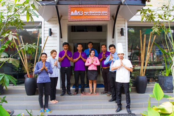 Angkor Empire Boutique Hotel Siem Reap