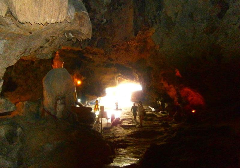 Krasae Cave Kanchanaburi