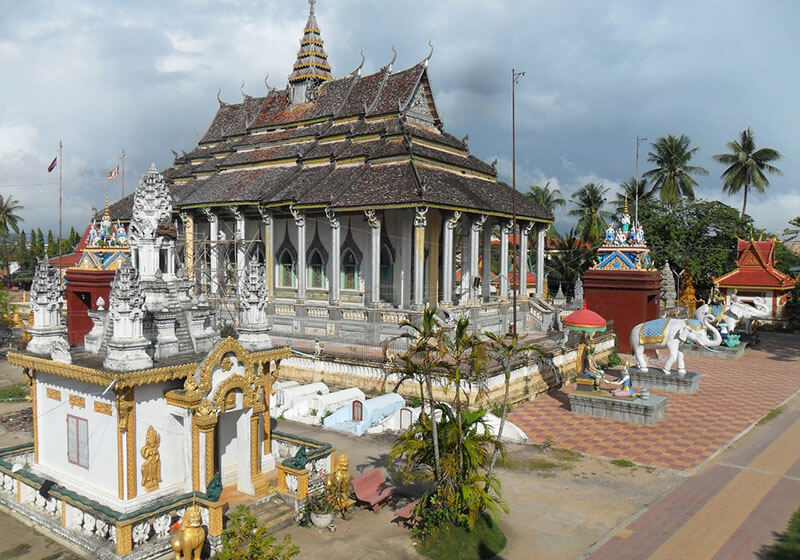White Elephant Pagoda Battambang