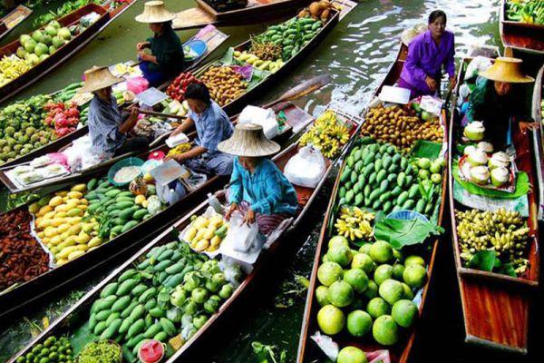 Pandan Thai Canal Tours