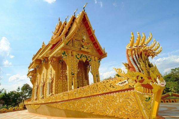 Ananta Nakaraj Barge Temple