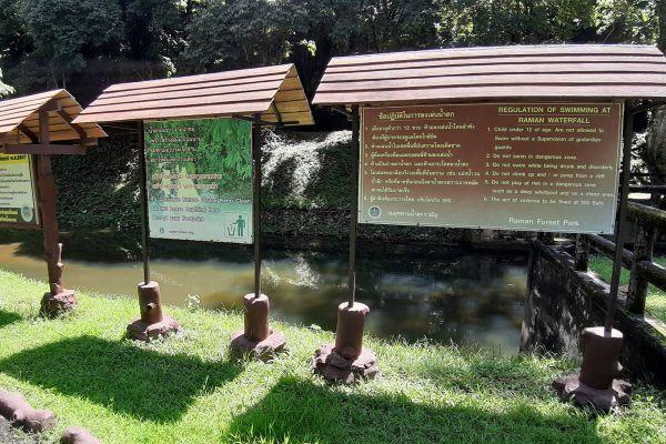 Namtok Raman Forest Park