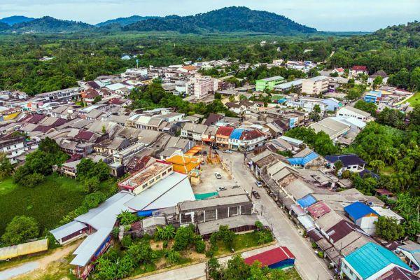 Sri Takua Pa Old Town