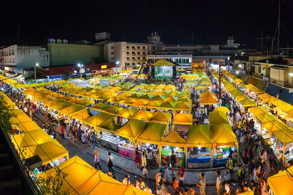 Krabi Town Walking Street