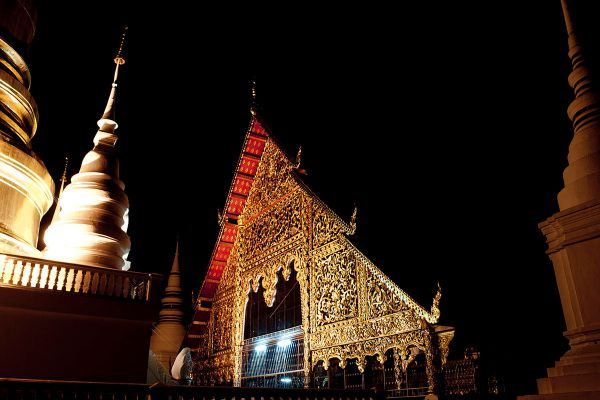 Wat Buppharam (Suan Dok Temple)