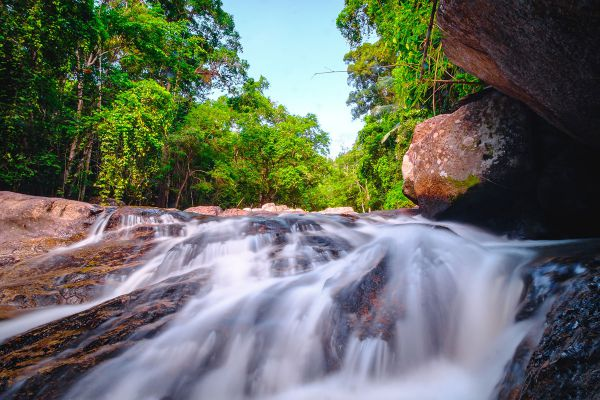 Hin Lat Waterfall Samui